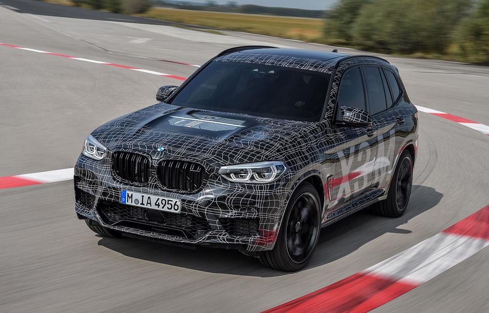 Primele imagini cu BMW X3 M și X4 M: modificări estetice consistente și tracțiune integrală inteligentă M xDrive - Poza 4