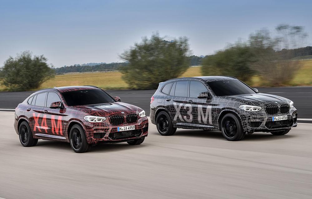 Primele imagini cu BMW X3 M și X4 M: modificări estetice consistente și tracțiune integrală inteligentă M xDrive - Poza 1