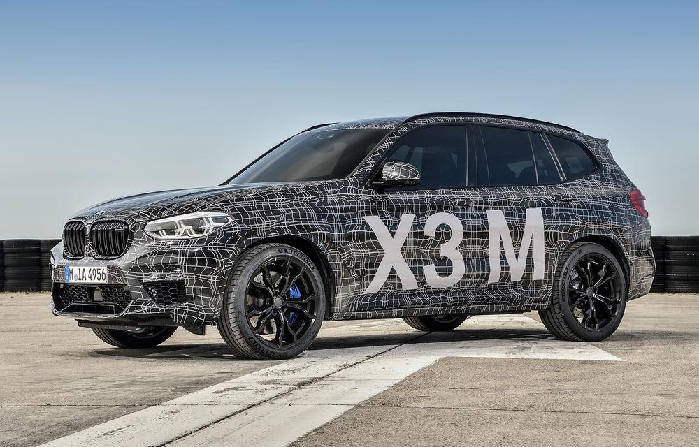 Primele imagini cu BMW X3 M și X4 M: modificări estetice consistente și tracțiune integrală inteligentă M xDrive - Poza 3