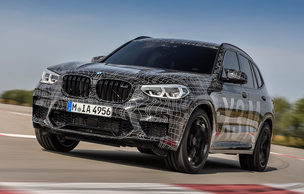 Primele imagini cu BMW X3 M și X4 M: modificări estetice consistente și tracțiune integrală inteligentă M xDrive - Poza 9