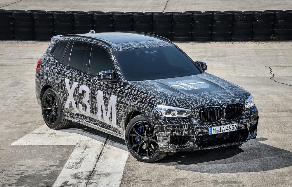 Primele imagini cu BMW X3 M și X4 M: modificări estetice consistente și tracțiune integrală inteligentă M xDrive - Poza 2