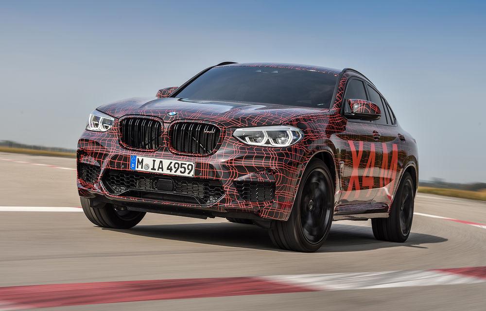 Primele imagini cu BMW X3 M și X4 M: modificări estetice consistente și tracțiune integrală inteligentă M xDrive - Poza 19