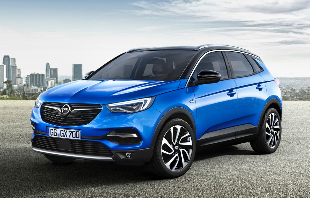 Opel Grandland X primește un nou motor pe benzină: 1.6 litri și 180 de cai putere - Poza 1