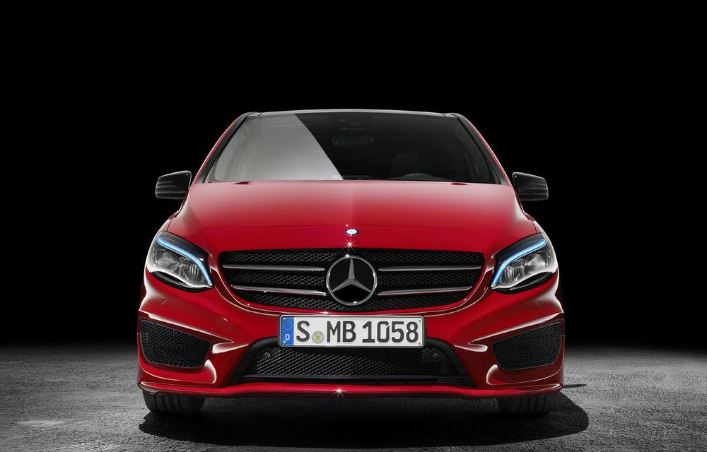 Detalii despre viitoarea generație Mercedes-Benz Clasa B: design influențat de noul Clasa A, tehnologii de top și dimensiuni mai generoase - Poza 1