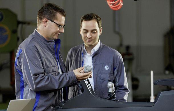 """Volkswagen vrea să introducă piese imprimate 3D în producția de masă: """"Scopul este să le integrăm cât mai repede în viitoarele noastre modele"""" - Poza 1"""