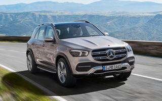 Noua generație Mercedes-Benz GLE, poze și detalii oficiale: design nou, motorizare mild-hybrid și o suspensie capabilă să recupereze energia în momentul amortizării