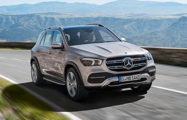 Noua generație Mercedes-Benz GLE, poze și detalii oficiale: design nou, motorizare mild-hybrid și o suspensie capabilă să recupereze energia în momentul amortizării - Poza 1