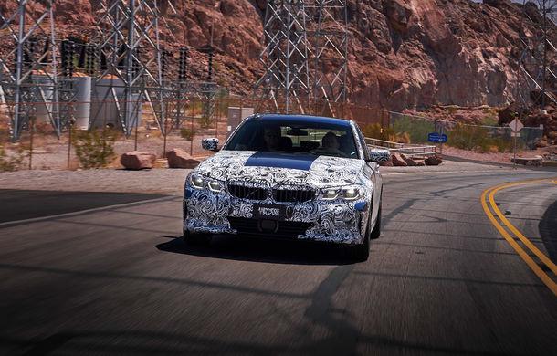 Informații noi despre viitoarea generație BMW Seria 3: sedanul are un coeficient aerodinamic de 0.23 și cel mai puternic motor cu 4 cilindri din istoria companiei - Poza 1