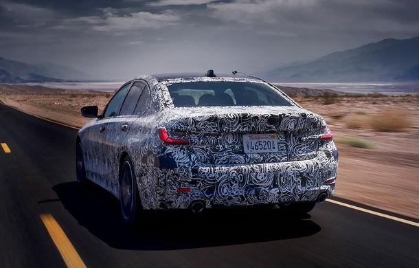 Informații noi despre viitoarea generație BMW Seria 3: sedanul are un coeficient aerodinamic de 0.23 și cel mai puternic motor cu 4 cilindri din istoria companiei - Poza 8