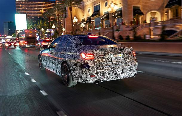 Informații noi despre viitoarea generație BMW Seria 3: sedanul are un coeficient aerodinamic de 0.23 și cel mai puternic motor cu 4 cilindri din istoria companiei - Poza 13