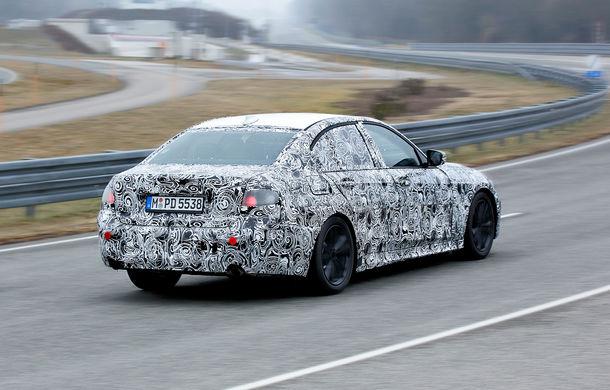 Informații noi despre viitoarea generație BMW Seria 3: sedanul are un coeficient aerodinamic de 0.23 și cel mai puternic motor cu 4 cilindri din istoria companiei - Poza 3