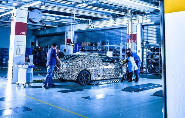 Informații noi despre viitoarea generație BMW Seria 3: sedanul are un coeficient aerodinamic de 0.23 și cel mai puternic motor cu 4 cilindri din istoria companiei - Poza 22