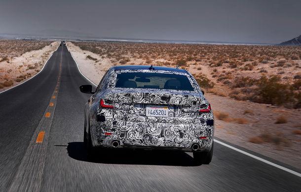 Informații noi despre viitoarea generație BMW Seria 3: sedanul are un coeficient aerodinamic de 0.23 și cel mai puternic motor cu 4 cilindri din istoria companiei - Poza 9