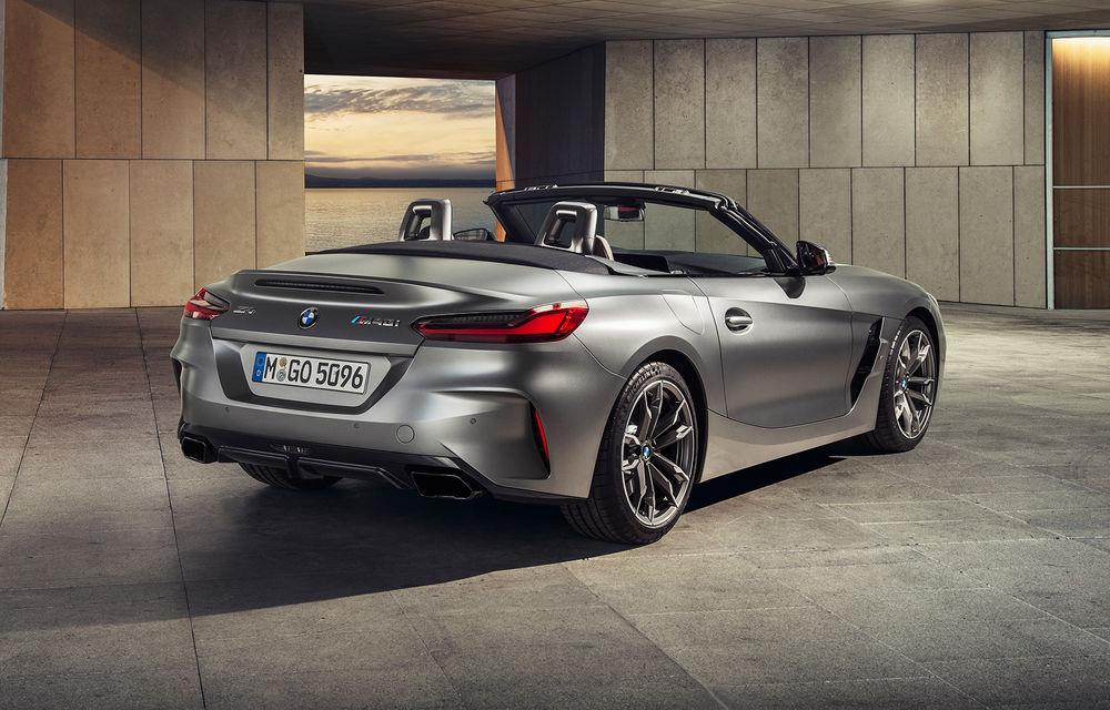 Toate informațiile despre noul BMW Z4: trei motorizări pe benzină și doar 10 secunde pentru acționarea plafonului soft-top - Poza 5