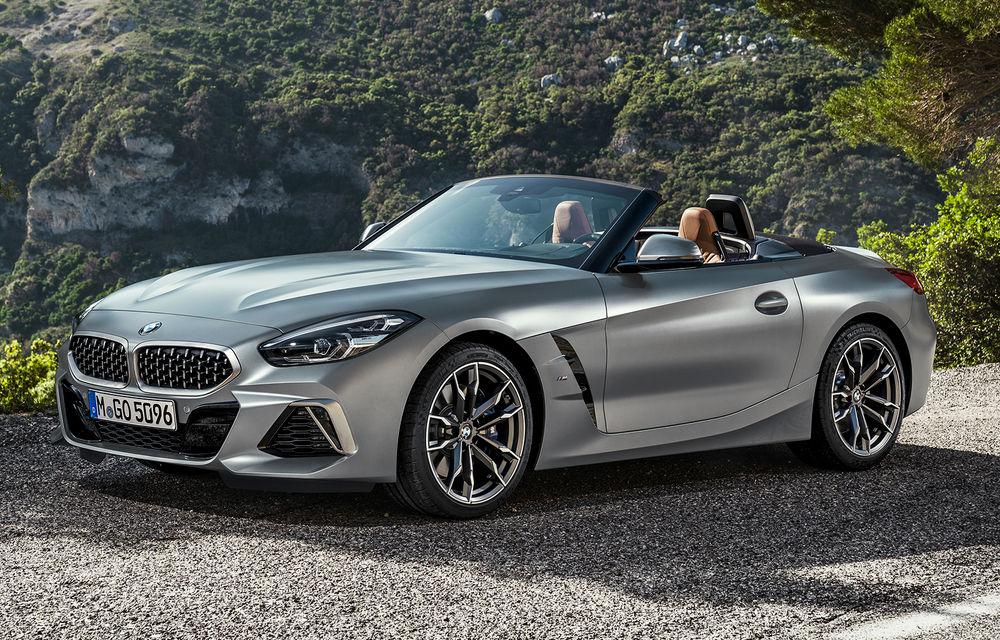 Toate informațiile despre noul BMW Z4: trei motorizări pe benzină și doar 10 secunde pentru acționarea plafonului soft-top - Poza 42