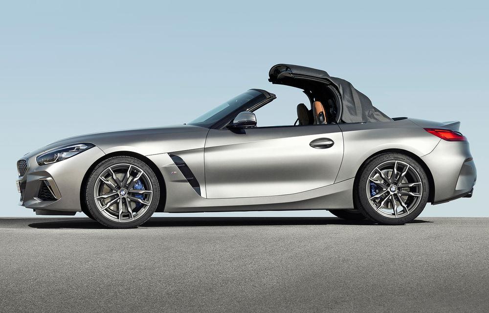 Toate informațiile despre noul BMW Z4: trei motorizări pe benzină și doar 10 secunde pentru acționarea plafonului soft-top - Poza 18