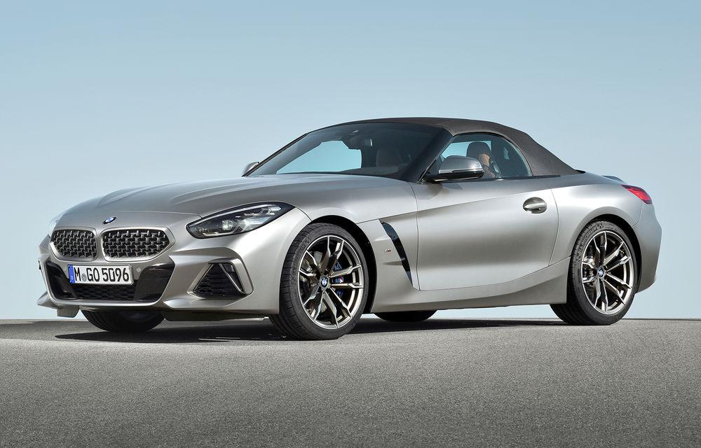 Toate informațiile despre noul BMW Z4: trei motorizări pe benzină și doar 10 secunde pentru acționarea plafonului soft-top - Poza 20
