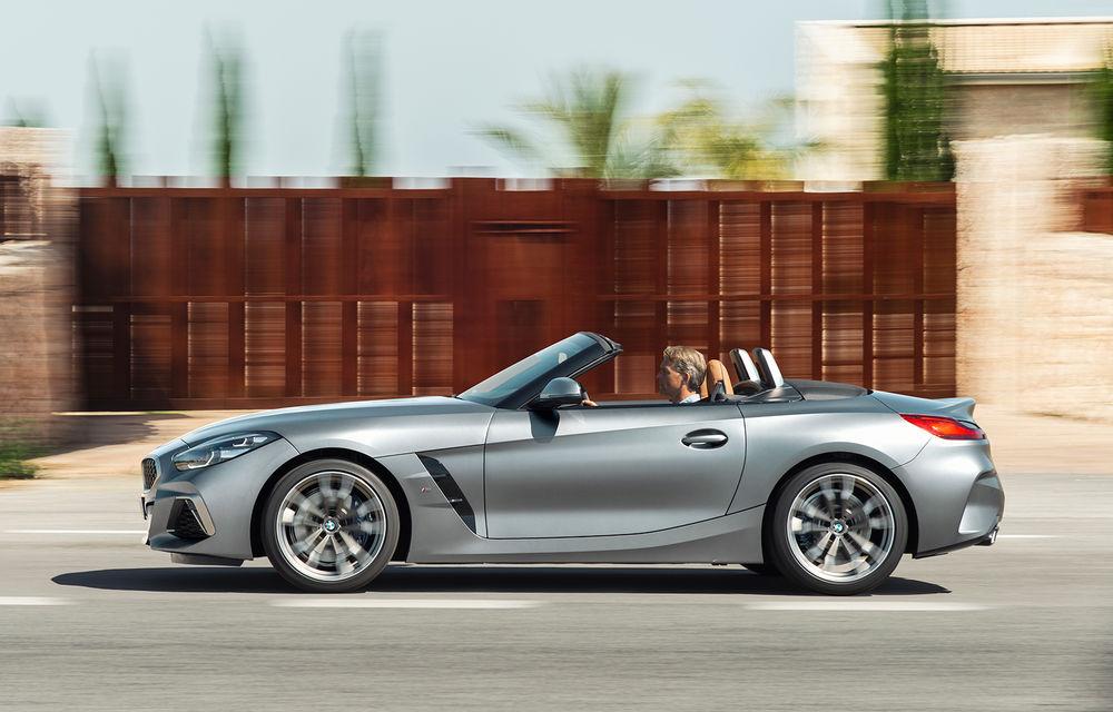 Toate informațiile despre noul BMW Z4: trei motorizări pe benzină și doar 10 secunde pentru acționarea plafonului soft-top - Poza 11