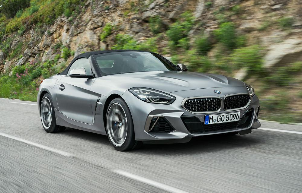 Toate informațiile despre noul BMW Z4: trei motorizări pe benzină și doar 10 secunde pentru acționarea plafonului soft-top - Poza 30