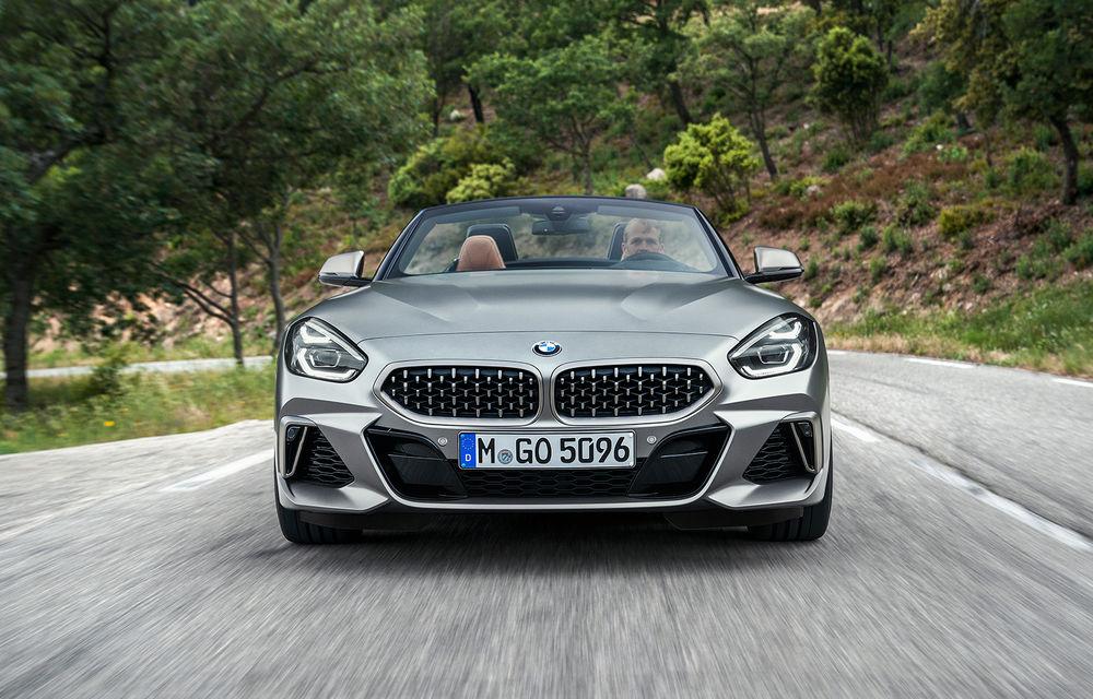 Toate informațiile despre noul BMW Z4: trei motorizări pe benzină și doar 10 secunde pentru acționarea plafonului soft-top - Poza 31