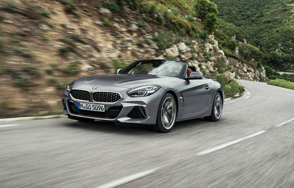 Toate informațiile despre noul BMW Z4: trei motorizări pe benzină și doar 10 secunde pentru acționarea plafonului soft-top - Poza 25