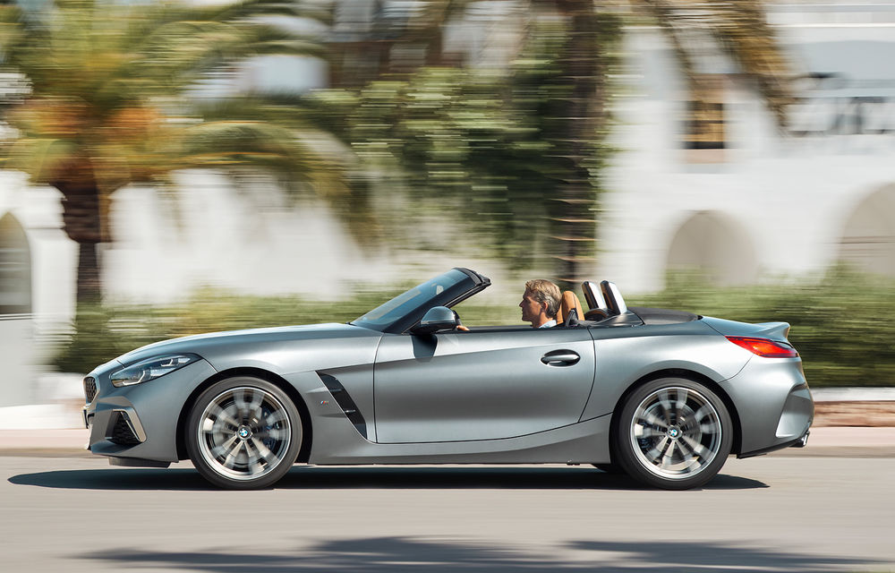 Toate informațiile despre noul BMW Z4: trei motorizări pe benzină și doar 10 secunde pentru acționarea plafonului soft-top - Poza 12
