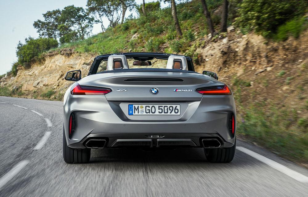 Toate informațiile despre noul BMW Z4: trei motorizări pe benzină și doar 10 secunde pentru acționarea plafonului soft-top - Poza 33