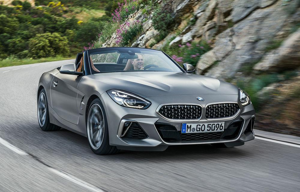 Toate informațiile despre noul BMW Z4: trei motorizări pe benzină și doar 10 secunde pentru acționarea plafonului soft-top - Poza 2
