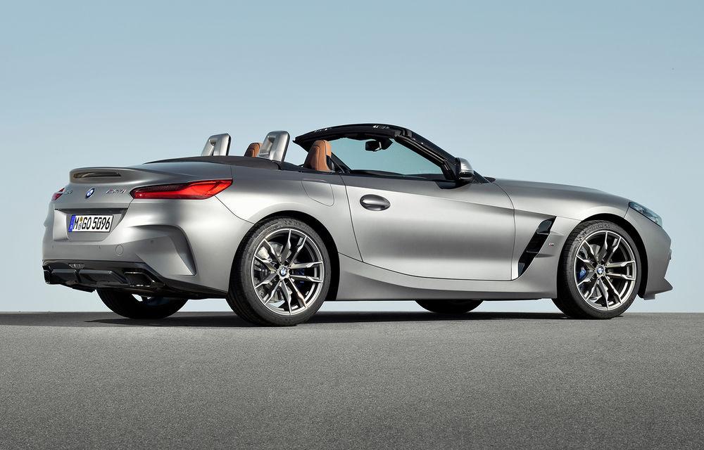 Toate informațiile despre noul BMW Z4: trei motorizări pe benzină și doar 10 secunde pentru acționarea plafonului soft-top - Poza 16