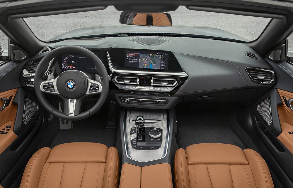 Toate informațiile despre noul BMW Z4: trei motorizări pe benzină și doar 10 secunde pentru acționarea plafonului soft-top - Poza 48