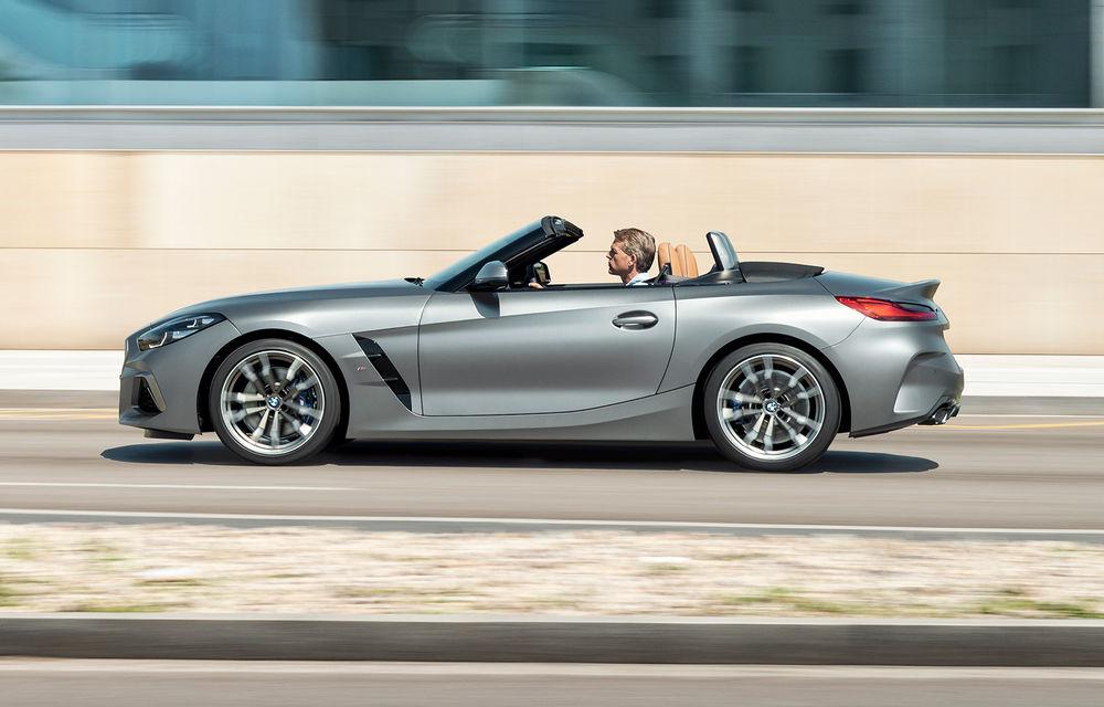 Toate informațiile despre noul BMW Z4: trei motorizări pe benzină și doar 10 secunde pentru acționarea plafonului soft-top - Poza 6