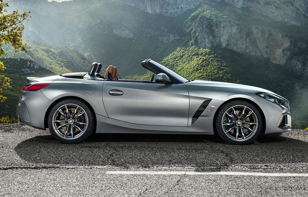 Toate informațiile despre noul BMW Z4: trei motorizări pe benzină și doar 10 secunde pentru acționarea plafonului soft-top - Poza 41