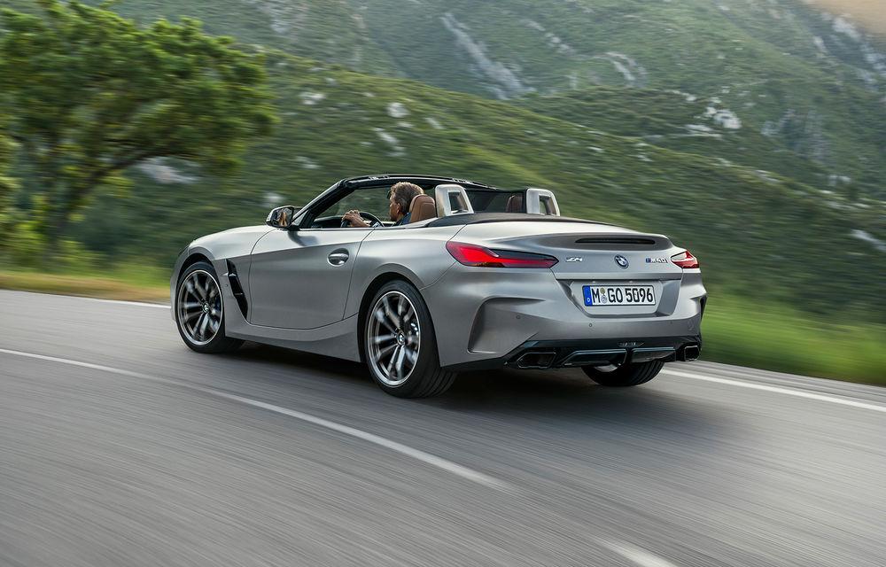 Toate informațiile despre noul BMW Z4: trei motorizări pe benzină și doar 10 secunde pentru acționarea plafonului soft-top - Poza 35