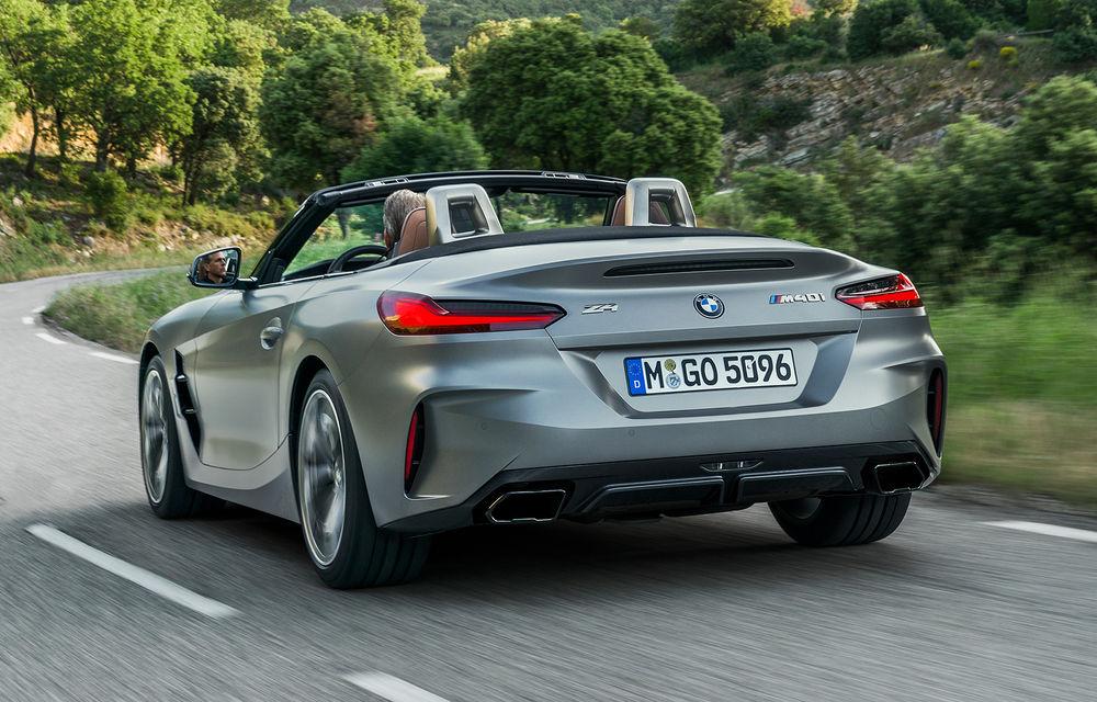 Toate informațiile despre noul BMW Z4: trei motorizări pe benzină și doar 10 secunde pentru acționarea plafonului soft-top - Poza 34