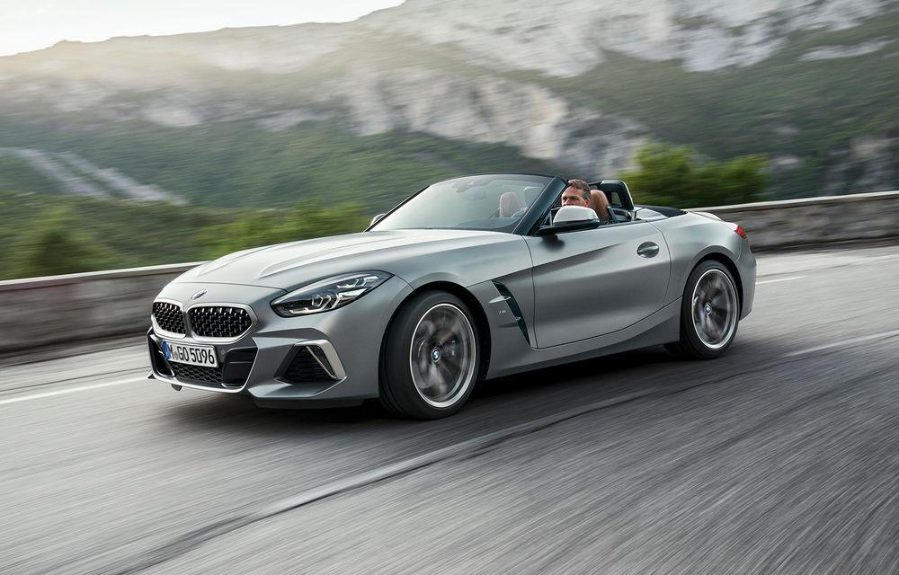 Toate informațiile despre noul BMW Z4: trei motorizări pe benzină și doar 10 secunde pentru acționarea plafonului soft-top - Poza 36