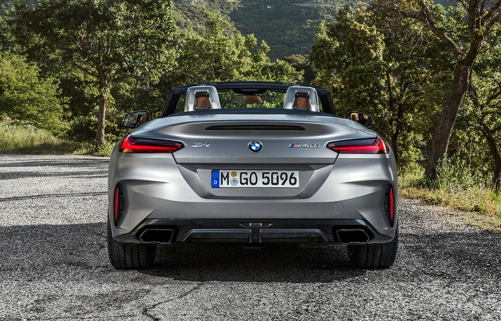 Toate informațiile despre noul BMW Z4: trei motorizări pe benzină și doar 10 secunde pentru acționarea plafonului soft-top - Poza 38