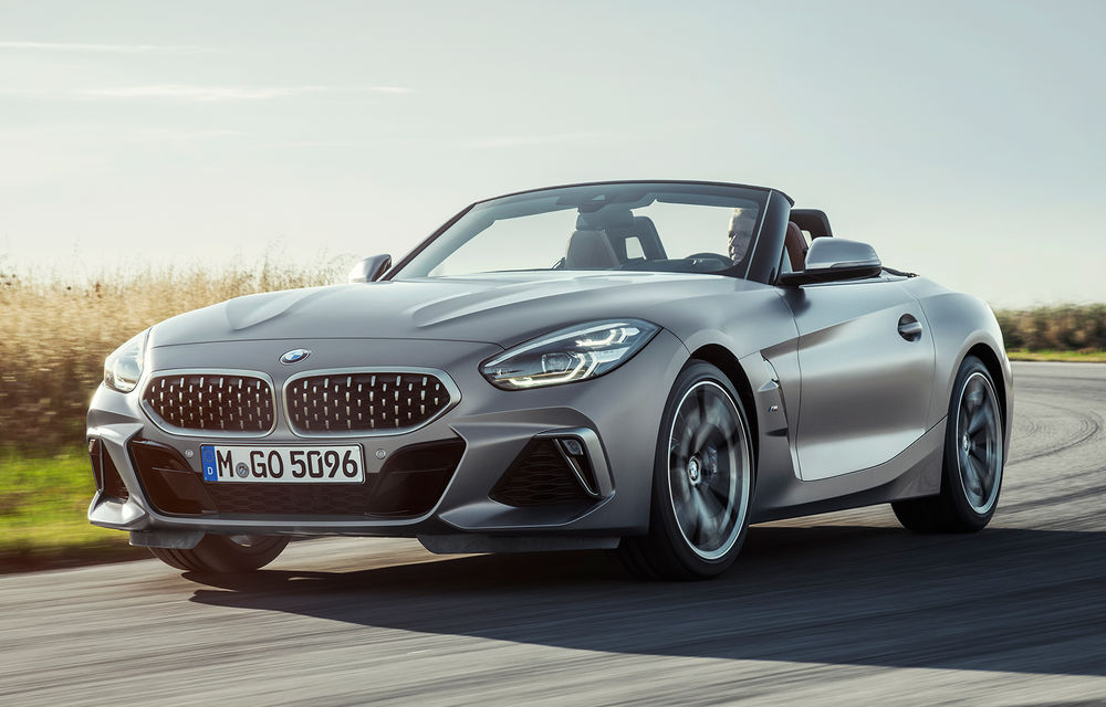 Toate informațiile despre noul BMW Z4: trei motorizări pe benzină și doar 10 secunde pentru acționarea plafonului soft-top - Poza 1