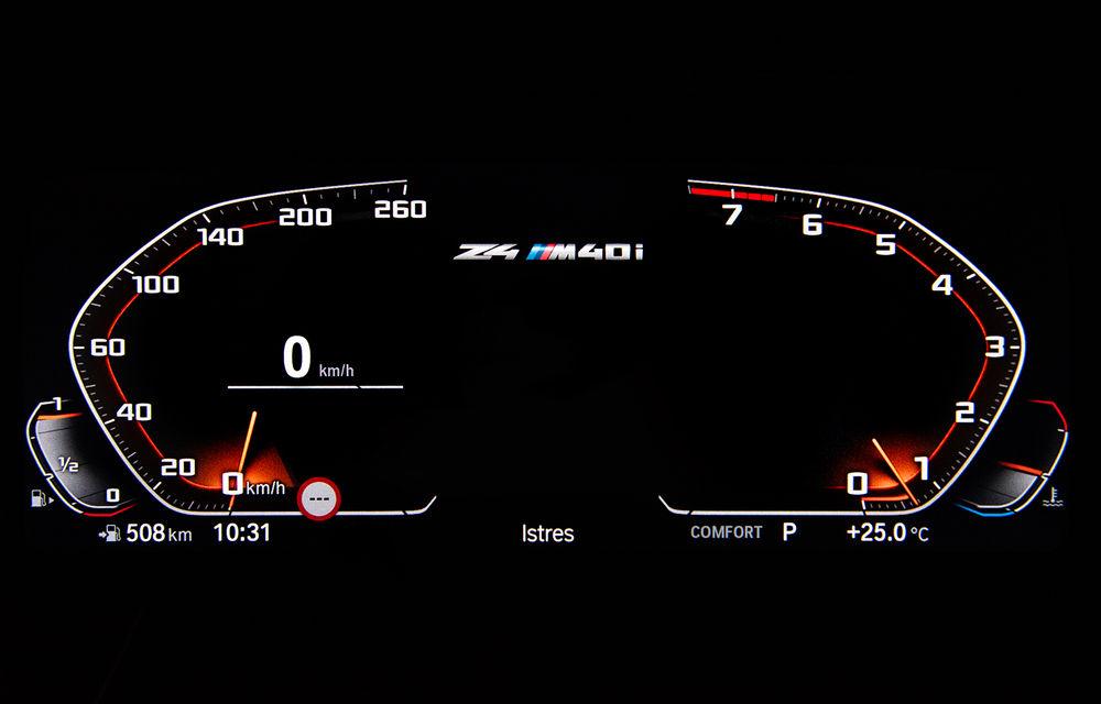 Toate informațiile despre noul BMW Z4: trei motorizări pe benzină și doar 10 secunde pentru acționarea plafonului soft-top - Poza 51
