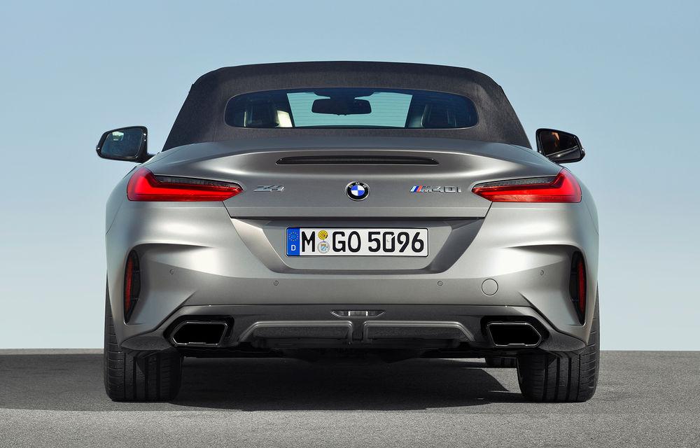Toate informațiile despre noul BMW Z4: trei motorizări pe benzină și doar 10 secunde pentru acționarea plafonului soft-top - Poza 15