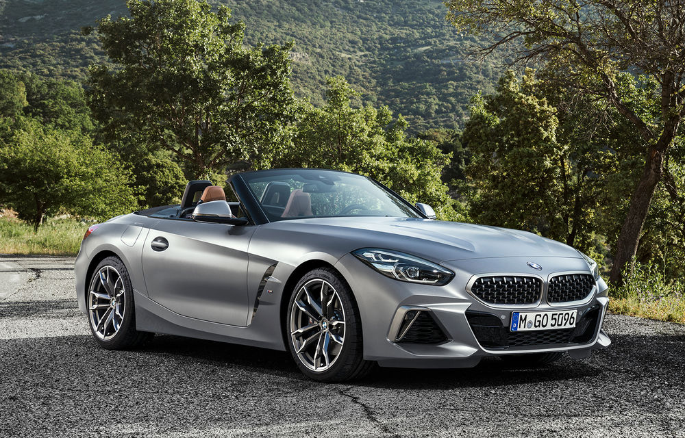 Toate informațiile despre noul BMW Z4: trei motorizări pe benzină și doar 10 secunde pentru acționarea plafonului soft-top - Poza 39