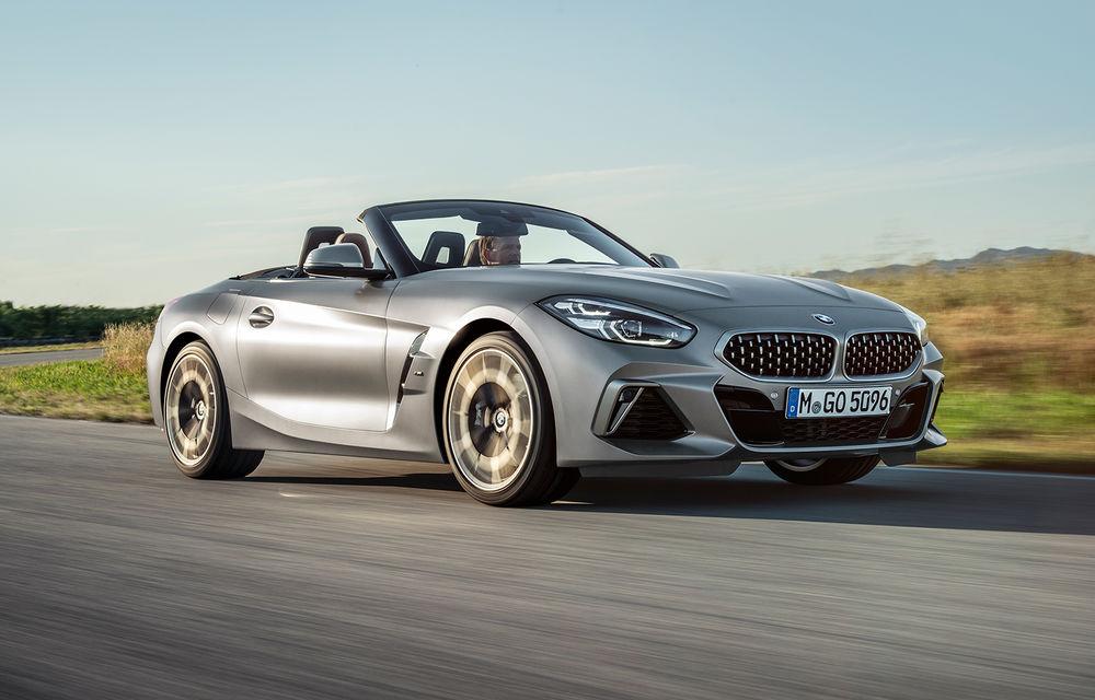 Toate informațiile despre noul BMW Z4: trei motorizări pe benzină și doar 10 secunde pentru acționarea plafonului soft-top - Poza 4