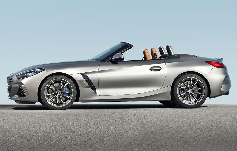 Toate informațiile despre noul BMW Z4: trei motorizări pe benzină și doar 10 secunde pentru acționarea plafonului soft-top - Poza 17