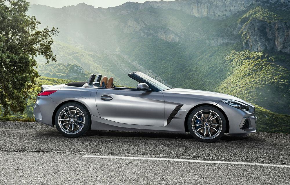 Toate informațiile despre noul BMW Z4: trei motorizări pe benzină și doar 10 secunde pentru acționarea plafonului soft-top - Poza 40