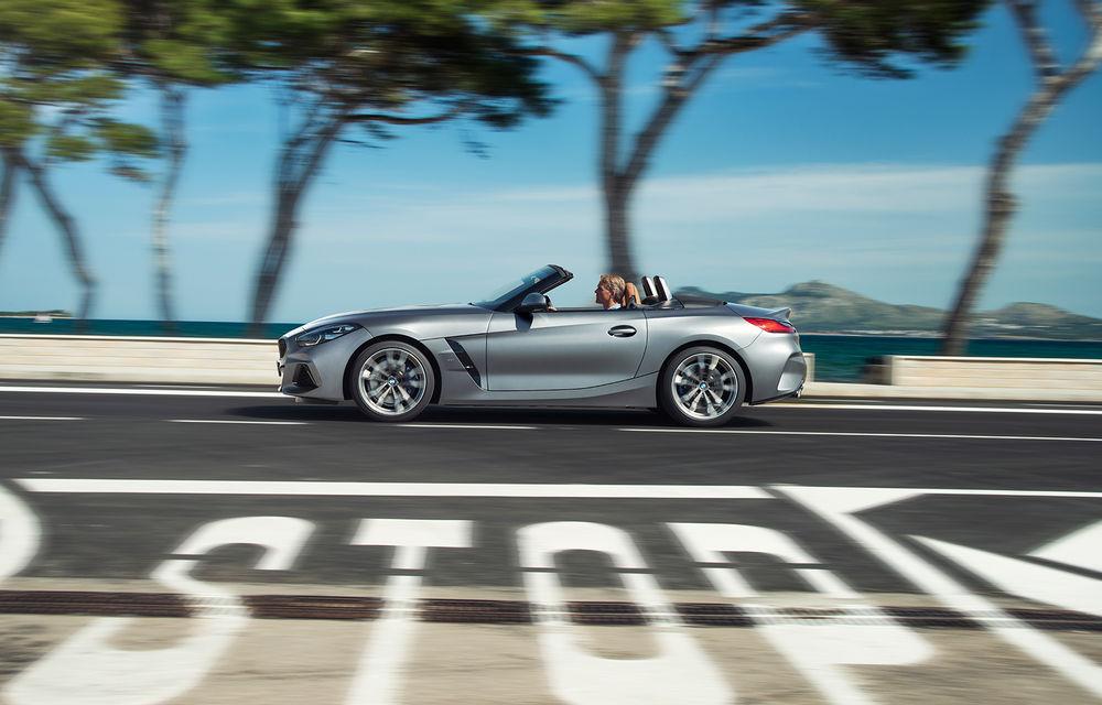 Toate informațiile despre noul BMW Z4: trei motorizări pe benzină și doar 10 secunde pentru acționarea plafonului soft-top - Poza 13