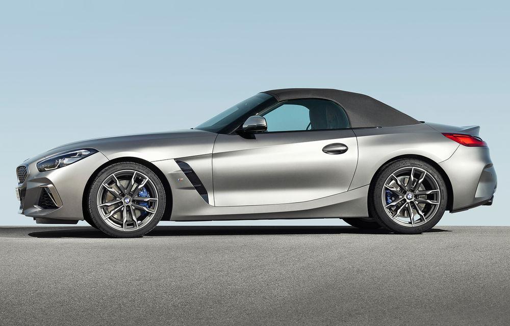 Toate informațiile despre noul BMW Z4: trei motorizări pe benzină și doar 10 secunde pentru acționarea plafonului soft-top - Poza 19