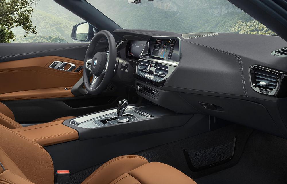 Toate informațiile despre noul BMW Z4: trei motorizări pe benzină și doar 10 secunde pentru acționarea plafonului soft-top - Poza 27