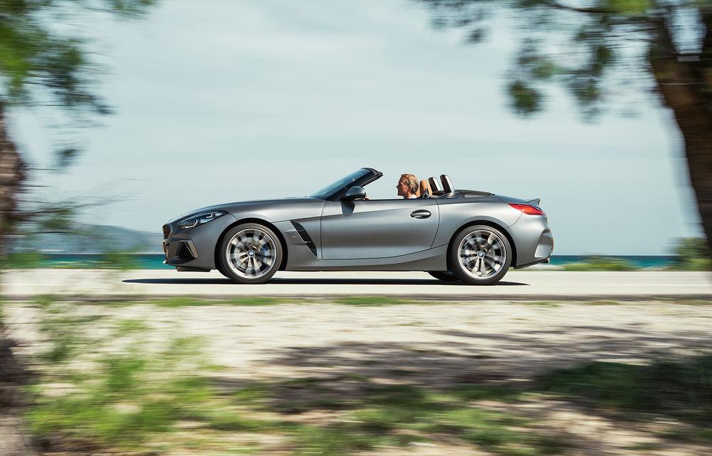 Toate informațiile despre noul BMW Z4: trei motorizări pe benzină și doar 10 secunde pentru acționarea plafonului soft-top - Poza 10
