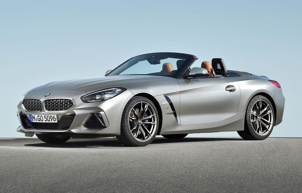 Toate informațiile despre noul BMW Z4: trei motorizări pe benzină și doar 10 secunde pentru acționarea plafonului soft-top - Poza 21