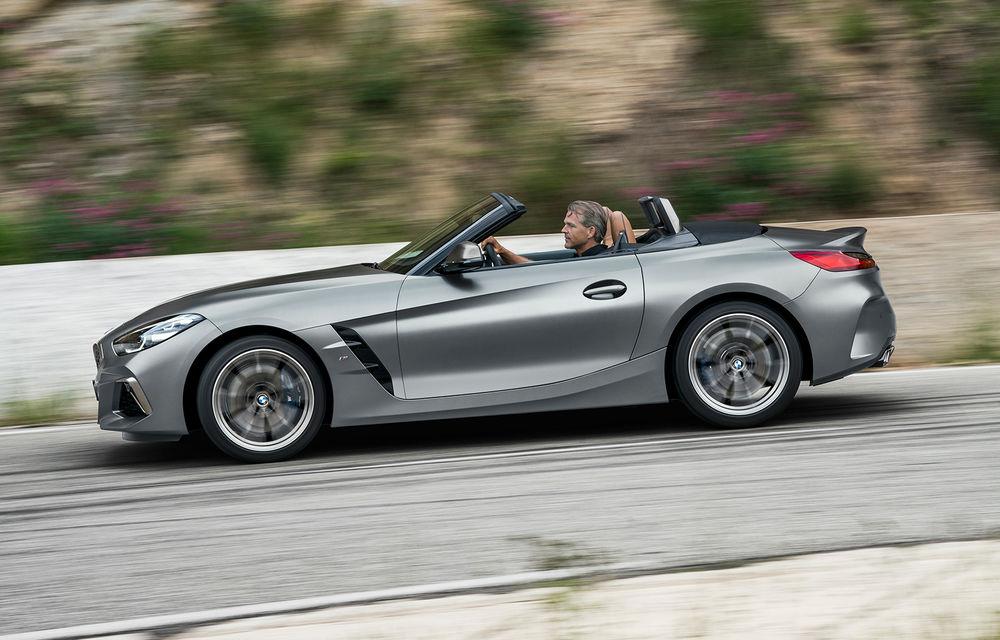 Toate informațiile despre noul BMW Z4: trei motorizări pe benzină și doar 10 secunde pentru acționarea plafonului soft-top - Poza 43