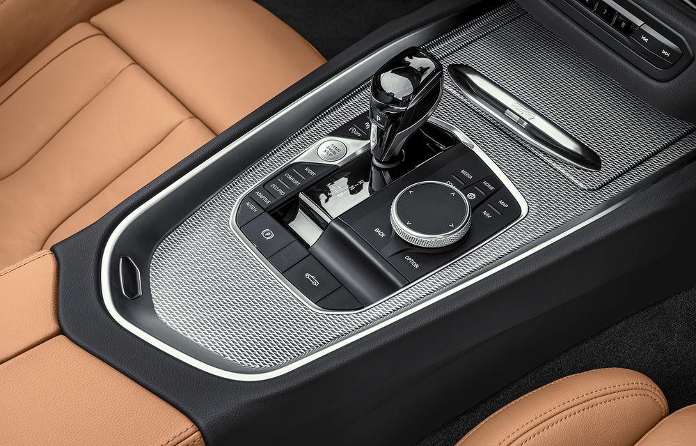 Toate informațiile despre noul BMW Z4: trei motorizări pe benzină și doar 10 secunde pentru acționarea plafonului soft-top - Poza 50